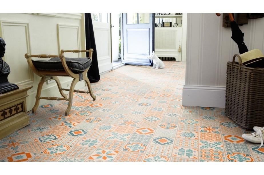 starfloor click 30 retro orange blue wiat dywan w i. Black Bedroom Furniture Sets. Home Design Ideas