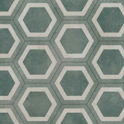 Exclusive 260 Honeycomb tile Green