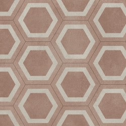Exclusive 260 Honeycomb tile Red