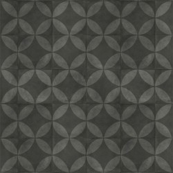 Exclusive 240 Tile Flower Black