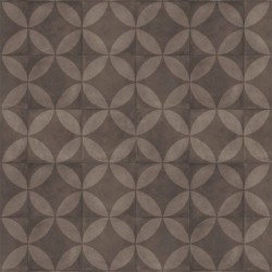 Exclusive 240 Tile Flower Brown