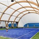 Kort tenisowy 18x36 m medium-fast