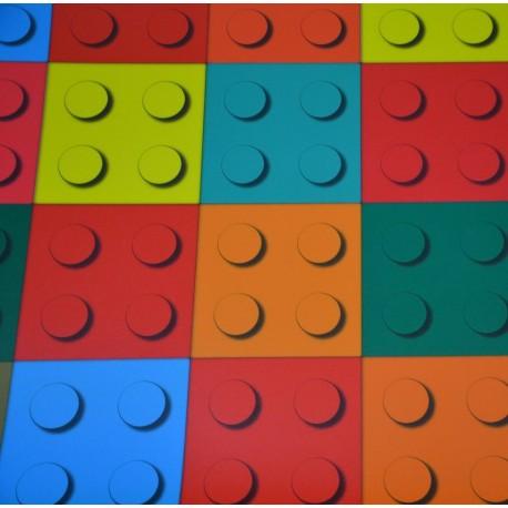 Exclusive 300 Brick Multicolor - 4m