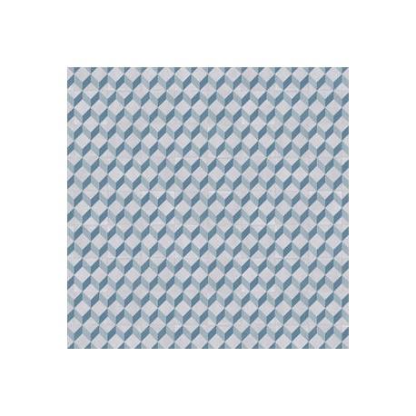 Exclusive 240 - Cube tile blue
