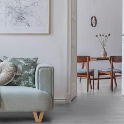 Starfloor Click 55 Solid - Scandinavian oak medium grey