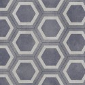 Exclusive 260 Honeycomb tile Blue