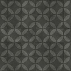 Exclusive 240 Tile Flower Black